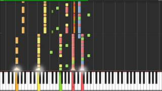 Muse - Uprising - Piano Tutorial (Synthesia)