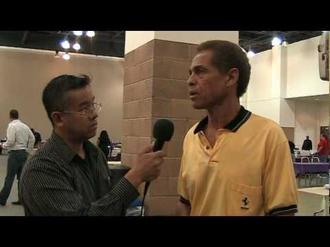 Jim Kelly Interview 2010 (Part 1): Talks John Saxon, Internet rumors, The Gracies, Bruce Lee