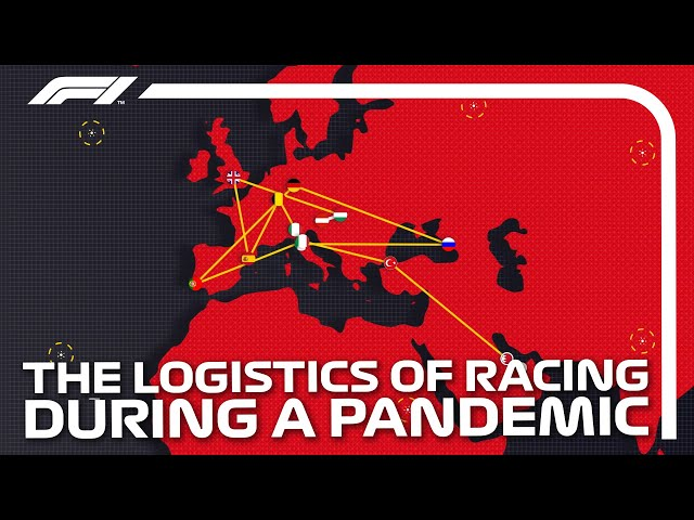 The Incredible Logistics of Racing During A Pandemic | DHL