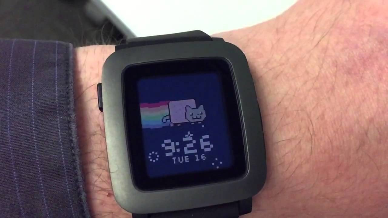 how to delete pebble watch faces