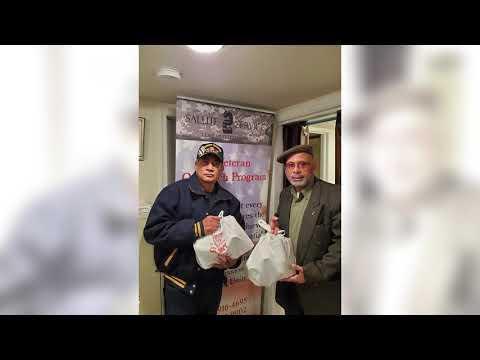 Salute 2 Service Feeds Local Homeless Veterans for Thanksgiving