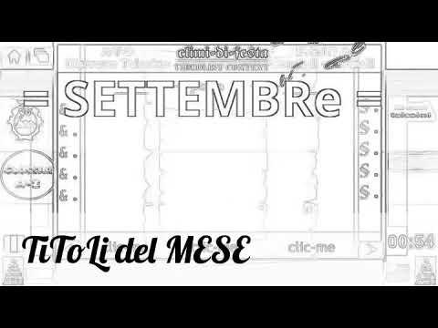 (test Lobster)  TITOLI del MESE - SETTEMBRE - Campania & Moli-Sannio