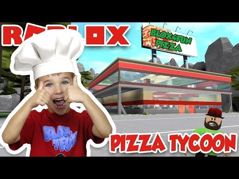 2 PLAYER PIZZA TYCOON WITH MY DAD in ROBLOX / BEST TEAM EVER!