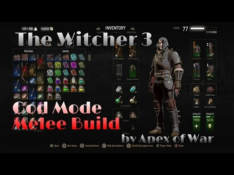 Witcher  Melee Build Death March