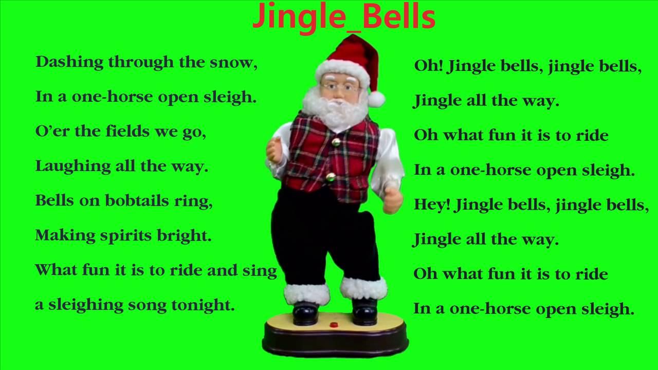 Jingle Bells Songs For Children || Instrumental Music ♪♫ - YouTube