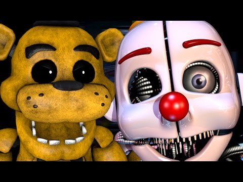 GOLDEN FREDDY PLAYS: Sister Location (Fake Ending) || THE BATTLE AGAINST ENNARD!!!