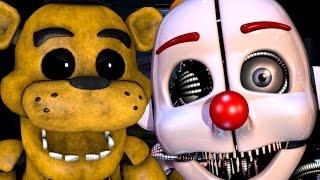 Golden Freddy Plays: Sister Location  Fake Ending     The Battle Against Ennard!