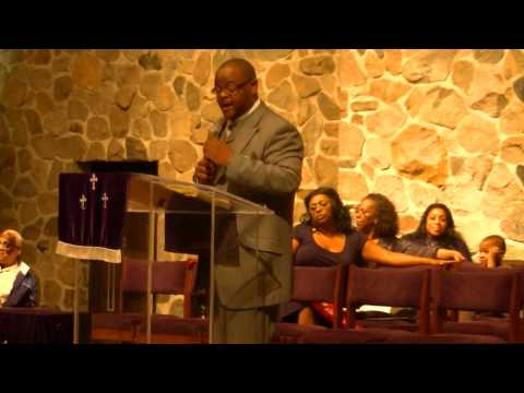 Rev. Elijah Wright at the McAfee Family Revivial 2012