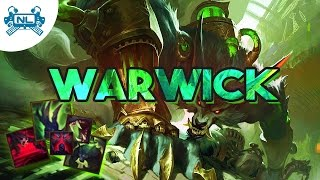Warwick Rework Hősbemutató│League of Legends Magyar HUN