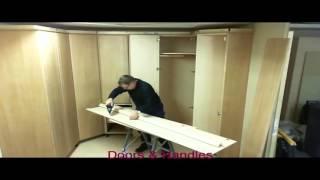 Угловой шкаф своими руками. Видео обзор для начинающих