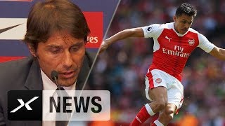 """FA-Cup: Antonio Conte: """"Sanchez-Tor klares Handspiel""""   FC Arsenal - FC Chelsea 2:1"""