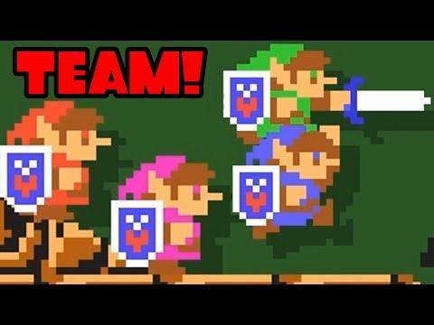 Super Mario Maker 2 Link 4 Player Co-Op Online