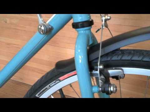 PDW Soda Pop City Bike Width Clip-on Fender Set