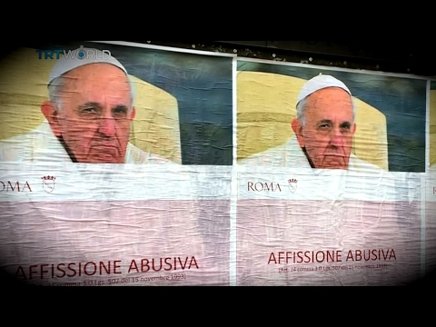 Pope Protests: Posters attacking Pope Francis seen in Rome