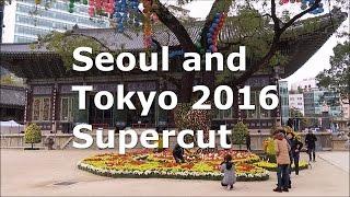 Seoul and Tokyo 2016 Supercut