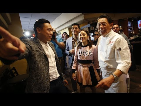 Director of 'Crazy Rich Asians' returns to family Bay Area restaurant