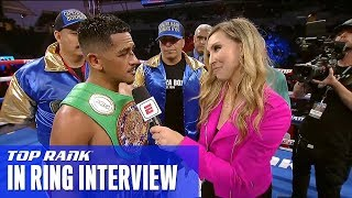 #NavarreteDeVaca Post-Fight Interview | Jessie Magdaleno