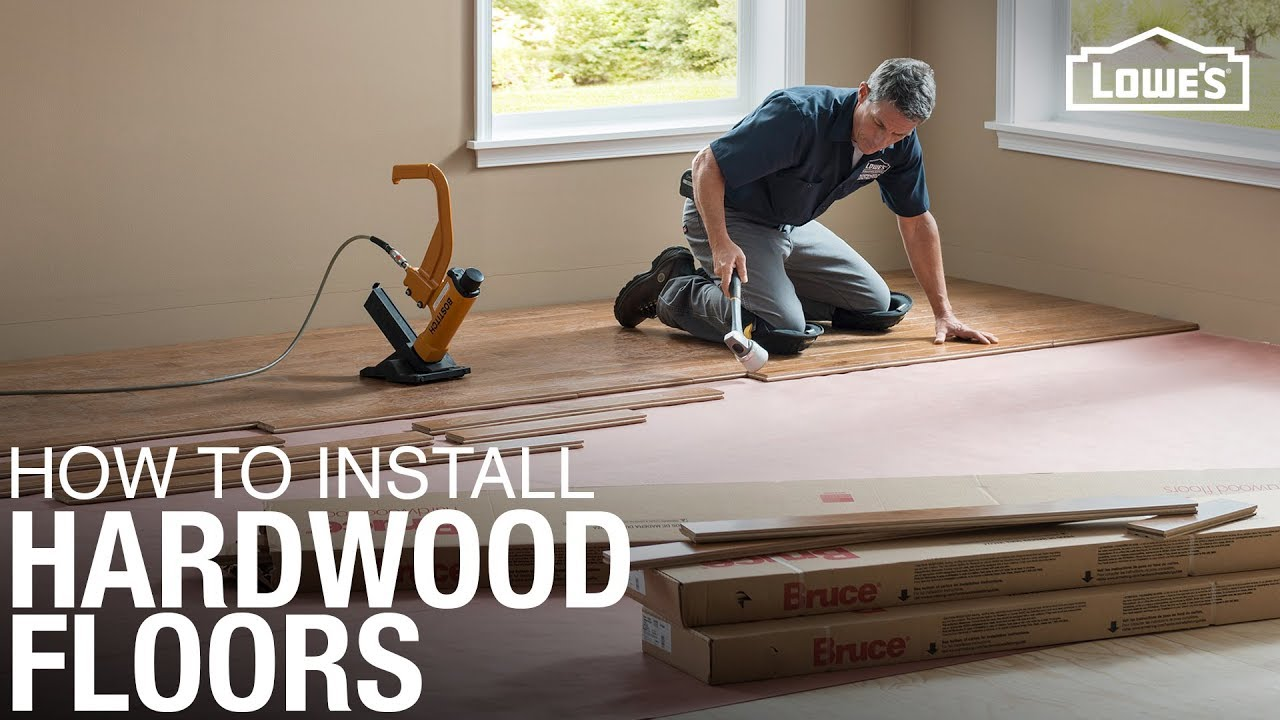 Learn How To Install Hardwood Floors Diy Projects