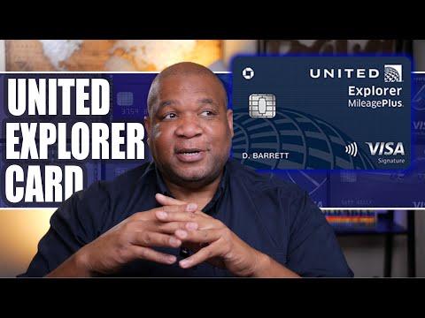 United Explorer Card - Credit Card Life Hacks