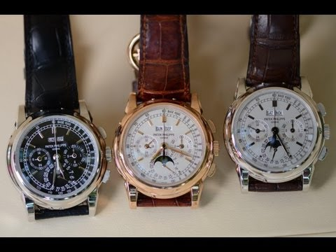 Extreme Wealth Humble Collection - 3 x Patek Philippe Perpetual Chronographs 5970
