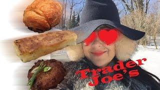 Trader Joe's Chocolate Croissants, Cheese Blintzes & Potato Latkes // Tasty Bit 78