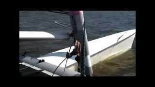 Prindle 18 Catamaran Zeilen