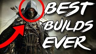 BEST Builds in ESO (Elder Scrolls Online Montage)