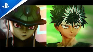 Jump Force - Hiei and Meruem Trailer | PS4