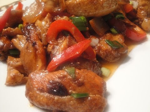 Salmon Bellies In Oyster Sauce
