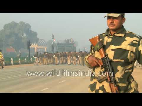 New Delhi gears up for Republic Day parade 2018