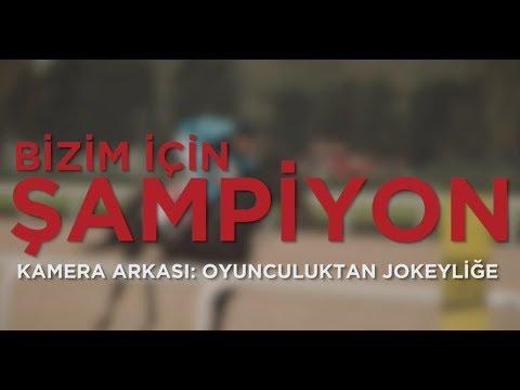 Şampiyon Kamera Arkası - Oyunculuktan Jokeyliğe