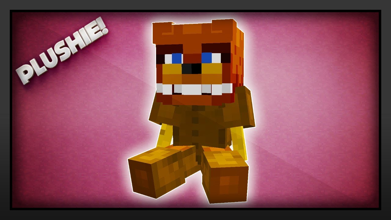 Minecraft How To Make A Plushie Teddy Bear Youtube