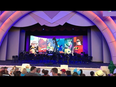 The Music of PIXAR Live Concert - Premiere Performance, Disney's Hollywood Studios