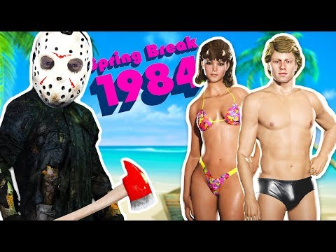 SPRING BREAK!! - FRIDAY THE 13th GAME