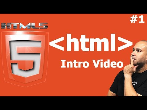 HTML Tutorial For Beginners - Introduction To HTML - Video 1