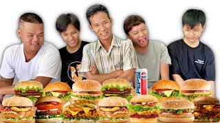 Người Cuối Cùng Ngừng Ăn Hamburger Sẽ Thắng 5 Triệu
