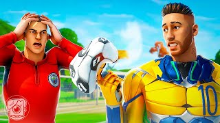 A DAY IN THE LIFE OF NEYMAR JR.! (A Fortnite Short Film)