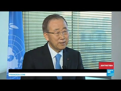 Ban Ki-moon: Syria has been an 'international failure'