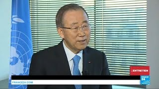 Ban Ki moon  Syria has been an 'international failure'