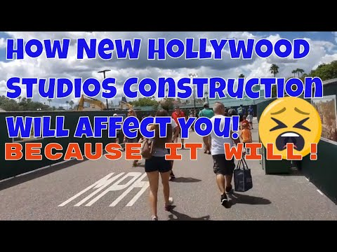 Disney's Hollywood Studios Construction Update | Entrance, Star Wars Tatooine Traders | Yikes!!