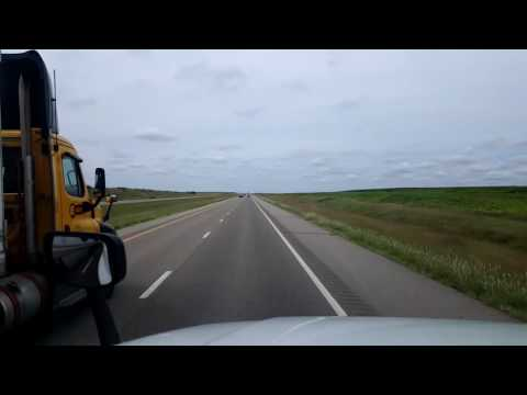 Bigrigtravels Live! Wakeeney,  Kansas to near Limon,  Colorado Interstate 70 August 26, 2016