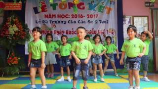 """Nhảy sôi động bài """" Bắc Kim Thang"""" - Trường Mầm Non Tương Lai Bình Dương"""