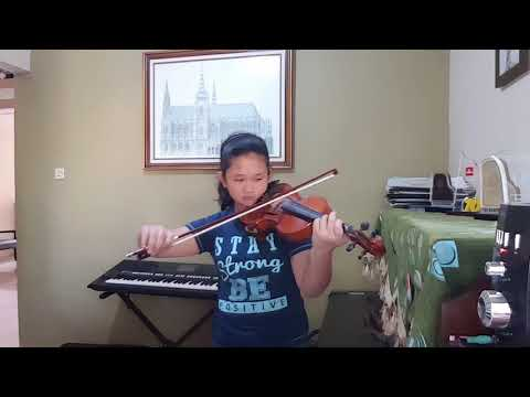 INDONESIA JAYA violin cover , Donna Patricia