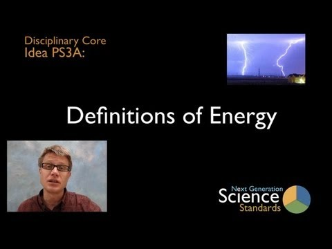 PS3A - Definitions of Energy