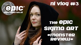 NL VLOG #3 : De EPIC Sigma Art Monster Review.! 14mm 1.8, 35mm 1.2, 105mm 1.4, 135mm 1.8 en meer..!