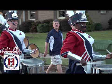 2017 Hunsville High School Homecoming Parade