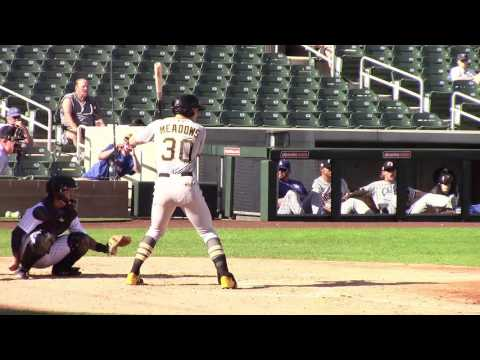 Austin Meadows, OF, Pittsburgh Pirates