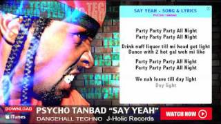 "★★★★★ BEST TECHNO SONG 2016 - 2017 - 2018  ""SAY YEAH"" by PSYCHO TANBAD WWE"