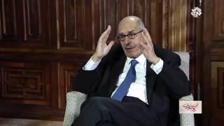 بالفيديو.. البرادعي: توسطت لخروج آمن لمرسي إلى دولة عربية