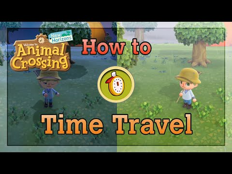 TIME TRAVEL GUIDE How to Time Travel in Animal Crossing New Horizons